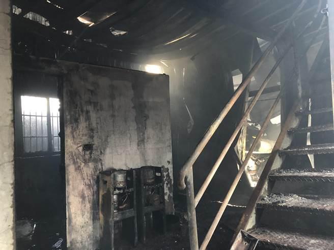 Cháy công xưởng ở Đài Loan