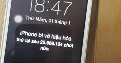 Dở khóc dở cười chiếc iPhone bị khóa máy gần… 50 năm tại Hà Nội